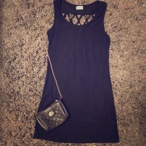 Mini Black Dress👗